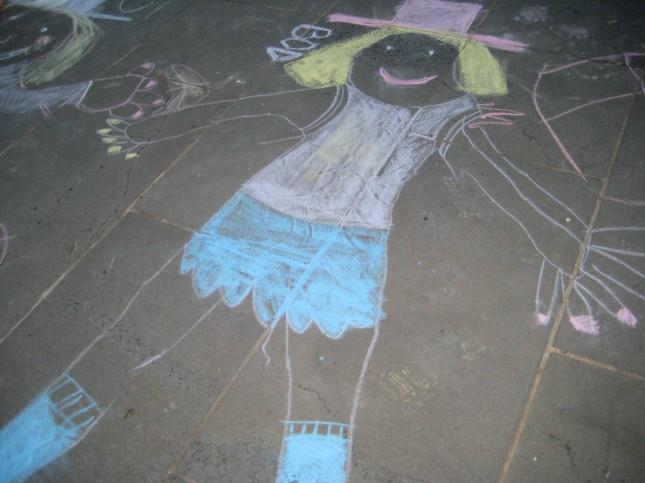 self portrait - A School Girl